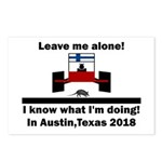 Leave me alone I know Texas Postcards (Package of