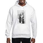 Street Musicians Sketch Hooded Sweatshirt