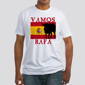 Vamos Rafa Tennis Fitted T-Shirt