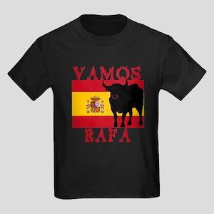 Vamos Rafa Tennis Kids Dark T-Shirt