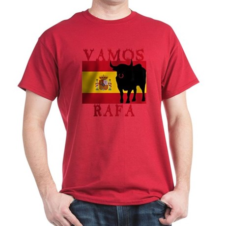 Vamos Rafa Tennis Dark T-Shirt