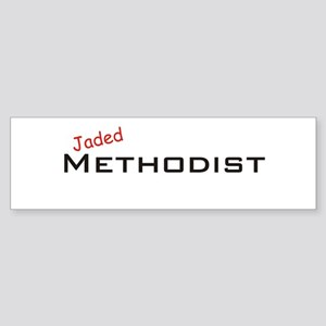 Jaded Methodist Bumper Sticker