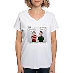 Adventure Scouts Women's V-Neck T-Shirt