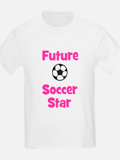 Future Soccer Star (pink) T-Shirt