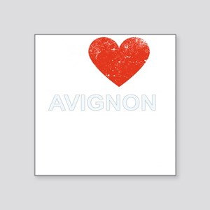 I Love Avignon Sticker