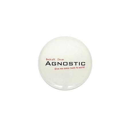 I'm an Agnostic Mini Button (10 pack)