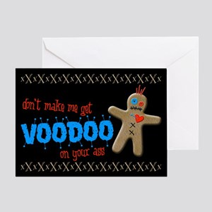 Voodoo on Your Ass Greeting Card