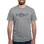 Flat Earth Woke Mens T-Shirt