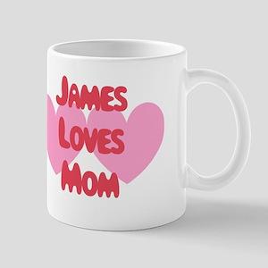 James Loves Mom Mug
