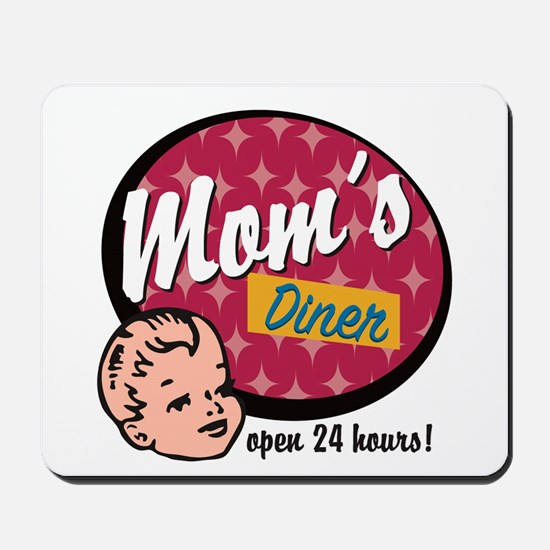 Mom's Diner Mousepad