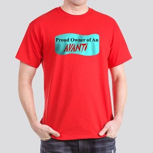 """Proud Avanti Owner"" Dark T-Shirt"