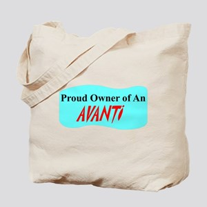 """""""Proud Avanti Owner"""" Tote Bag"""