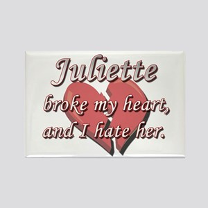 Juliette broke my heart and I hate her Rectangle M