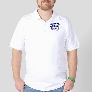 PEACE LOVE CURE ALS (L1) Golf Shirt