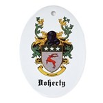 Doherty Coat of Arms Oval Ornament