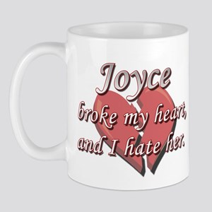 Joyce broke my heart and I hate her Mug