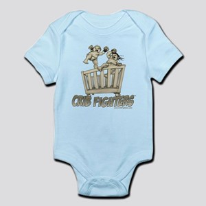 Crib Fighters - Crib Battle Infant Bodysuit