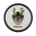 Doherty Coat of Arms Large Wall Clock
