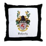 Doherty Coat of Arms Throw Pillow