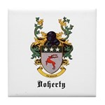 Doherty Coat of Arms Tile Coaster