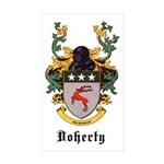 Doherty Coat of Arms Rectangle Sticker 10 pk)