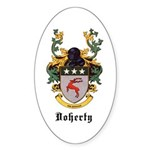 Doherty Coat of Arms Oval Sticker