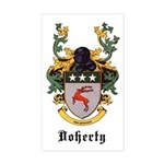 Doherty Coat of Arms Rectangle Sticker