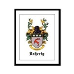 Doherty Coat of Arms Framed Panel Print