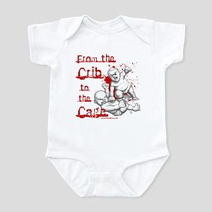 Crib to the Cage Hardcore Infant Bodysuit
