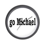 go Michael Wall Clock