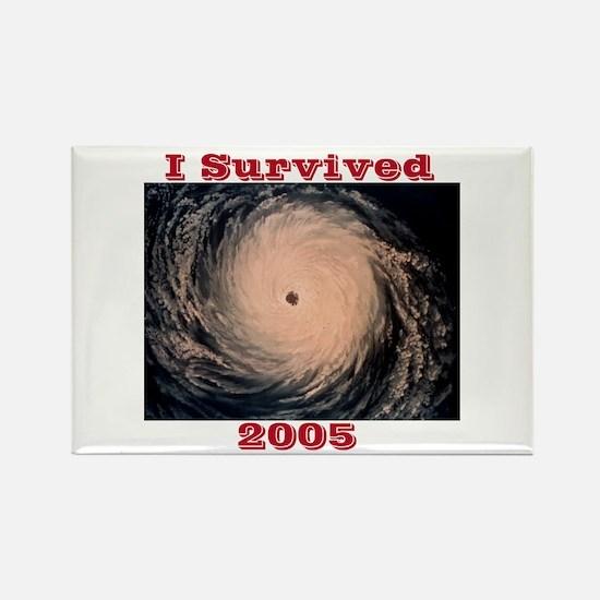 I Survived 2005 Rectangle Magnet