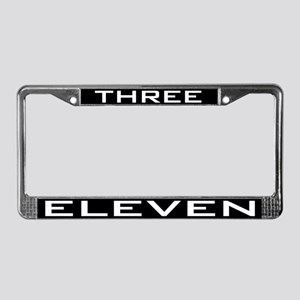 Three Eleven License Plate Frame