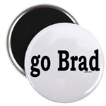 """go Brad 2.25"""" Magnet (100 pack)"""