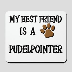 My best friend is a PUDELPOINTER Mousepad