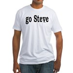go Steve Fitted T-Shirt