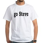 go Steve White T-Shirt