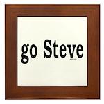 go Steve Framed Tile
