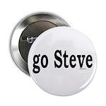"go Steve 2.25"" Button (10 pack)"