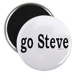 """go Steve 2.25"""" Magnet (100 pack)"""