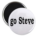 go Steve Magnet