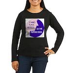 Cutting Edge Women's Long Sleeve Dark T-Shirt