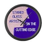 Cutting Edge Large Wall Clock