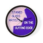 Cutting Edge Wall Clock
