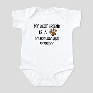 My best friend is a POLISH LOWLAND SHEEPDOG Infant