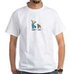 Greyt Life White T-Shirt (w/ 2CG logo)