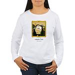Moona Lisa Women's Long Sleeve T-Shirt