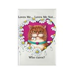 Loves Me Rectangle Magnet (10 pack)