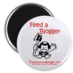Feed a Blogger Magnet