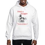 Feed a Blogger Hooded Sweatshirt
