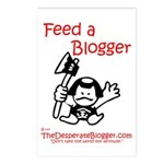 Feed a Blogger Postcards (Package of 8)